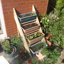 Simple Planter Ladder