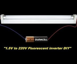 A Powerful 1.5V to 220V Inverter With Schematic DIY