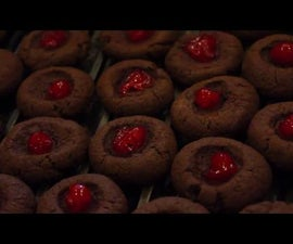 Gluten Free Chocolate Cherry Cookies: Cheap Enough for the Whole Family