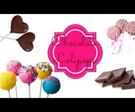DIY CHOCOLATE LOLIPOPS!