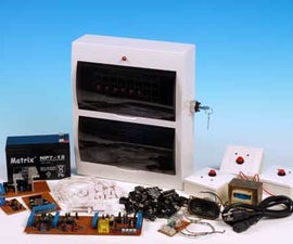 Home Built DIY Home Security Alarm System