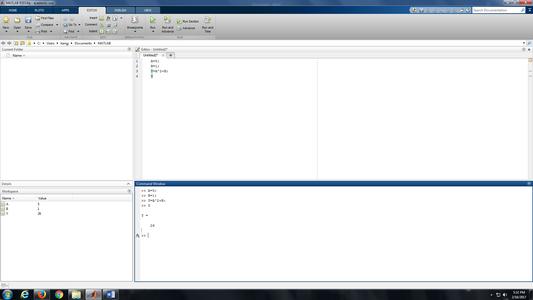 Creating a Script File