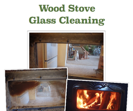 Fast FREE Effective Wood Stove Glass Cleaner