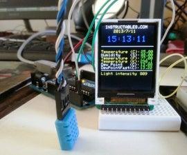 Mini Arduino environment monitor  ** UPDATE - Added RTC ***