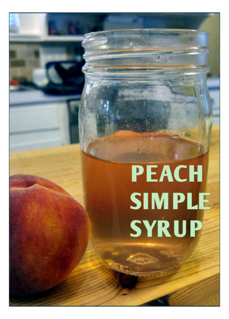 Picture of Peach Simple Syrup