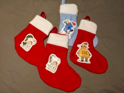 Custom Personalized Picture Christmas Stockings