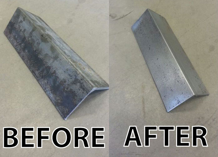 How to Clean New Steel Without Sandblasting: 4 Steps (with Pictures)