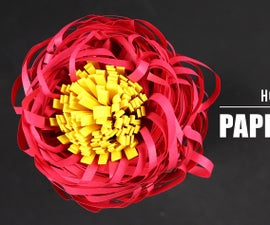 How to Make Paper Flower