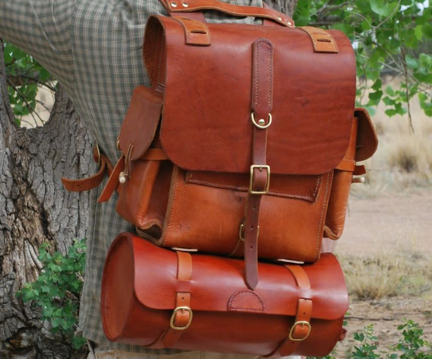 How To Make Leather Backpack | Frog Backpack