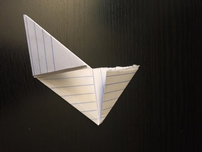 Fold in the Triangles.
