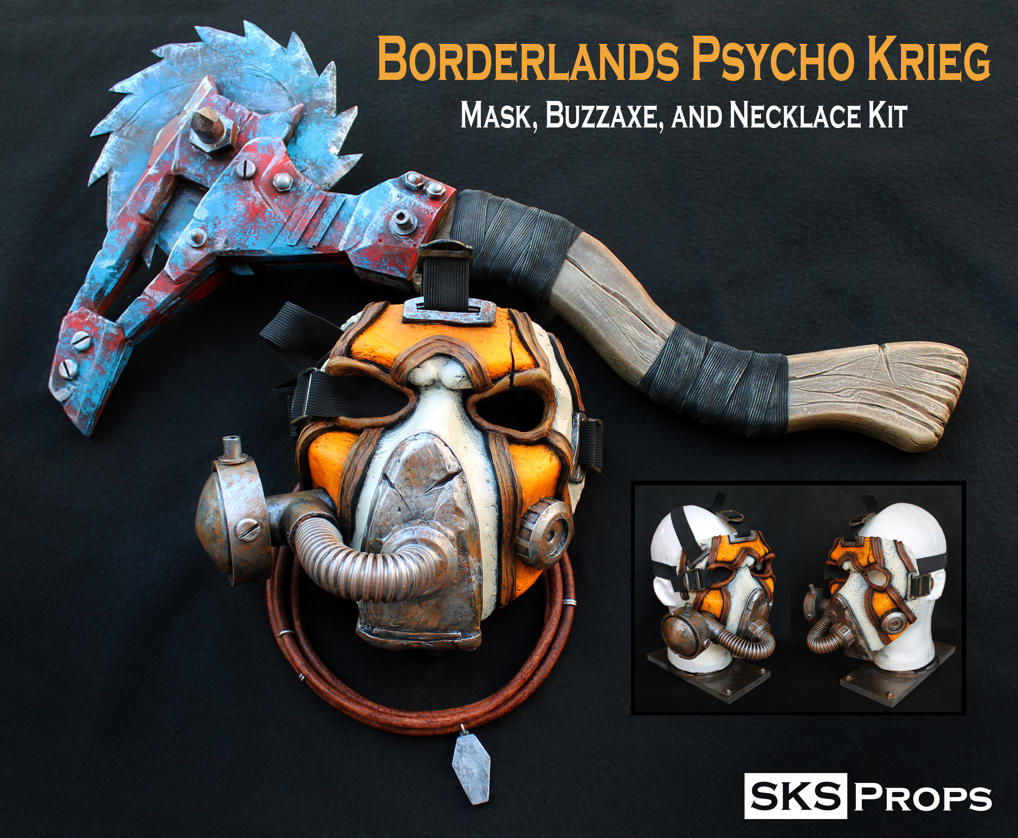 Picture of Borderlands - Krieg's Buzzaxe Cosplay Prop
