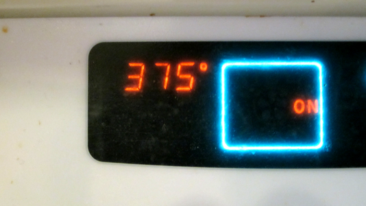 Preheat Your Oven to 375!