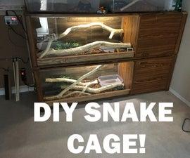 DIY Snake Cage