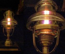 Steampunked Insulator-nightlight