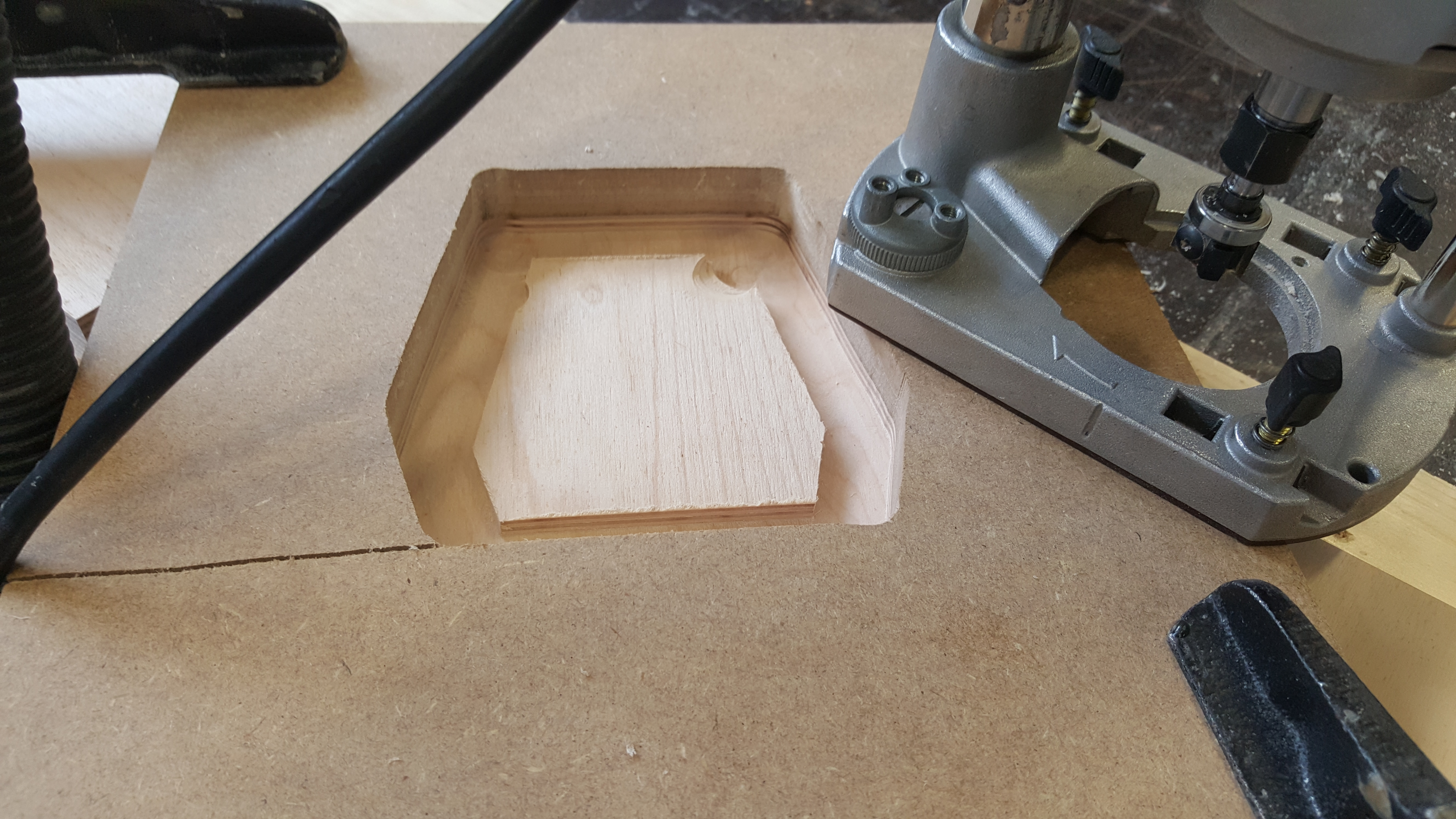 Picture of Making a Router Jig and the Pieces