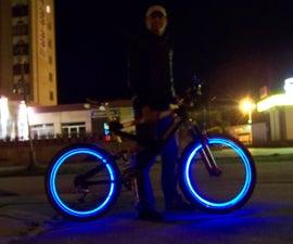 LED bicycle wheels