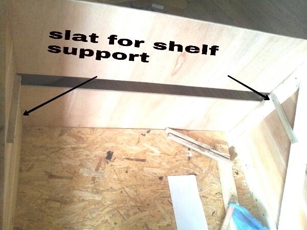 Picture of Fix Door and Shelf Support