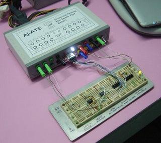 Universal Analog Hardware Testbench
