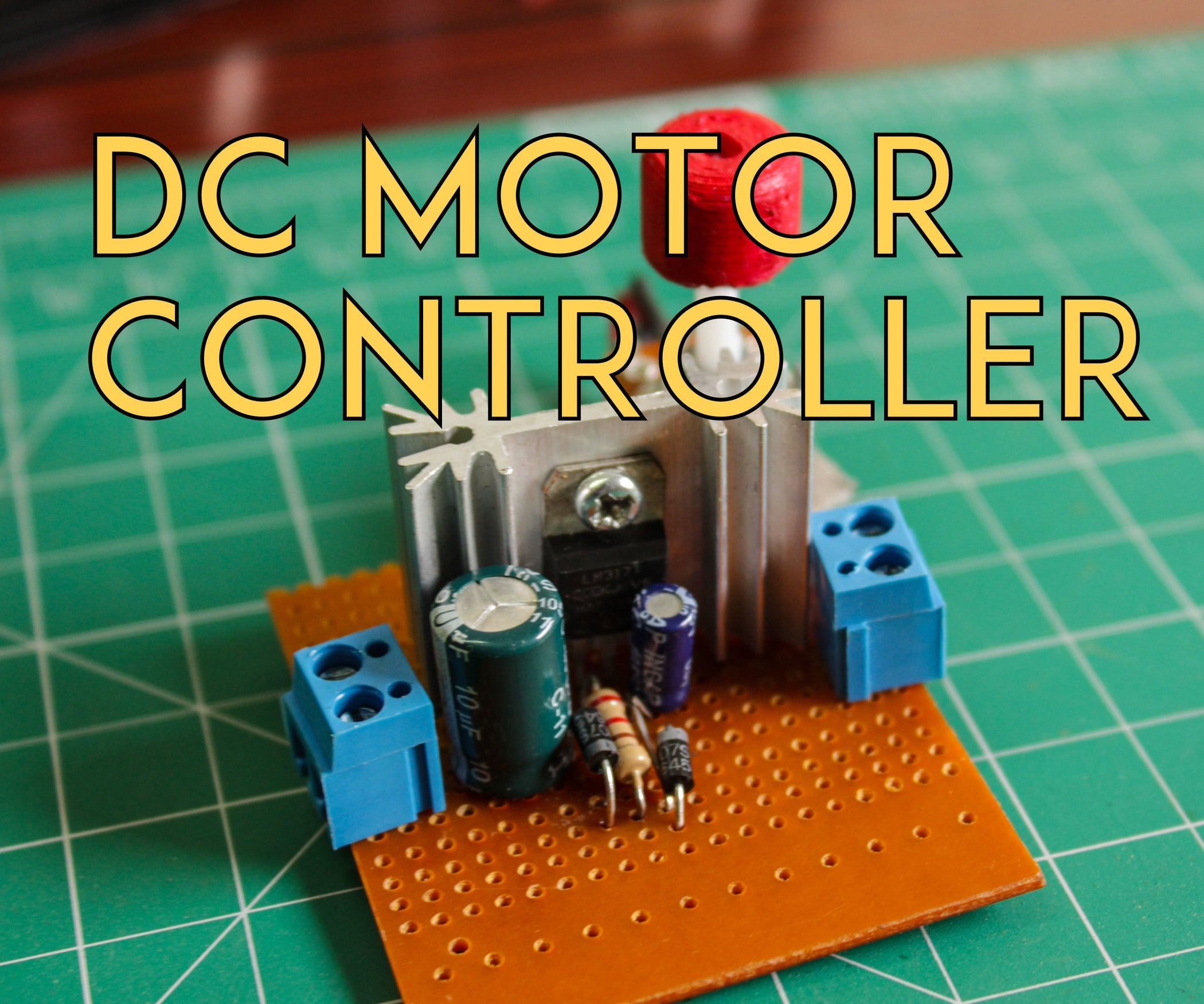 How To Make A Dc Motor Speed Controller 5 Steps With Pictures Circuit Also Shunt Voltage Regulator Further Ne555 Timer