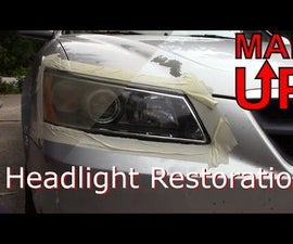 Fixing Frosted Chalked and Faded Headlights