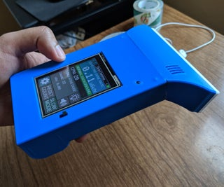DIY Geiger Counter With an ESP8266 and a Touchscreen