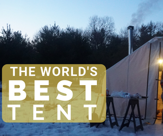 How to Prep and Set Up a Wall Tent