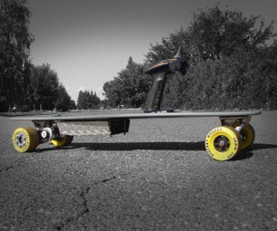 The Budget DIY Electric Longboard