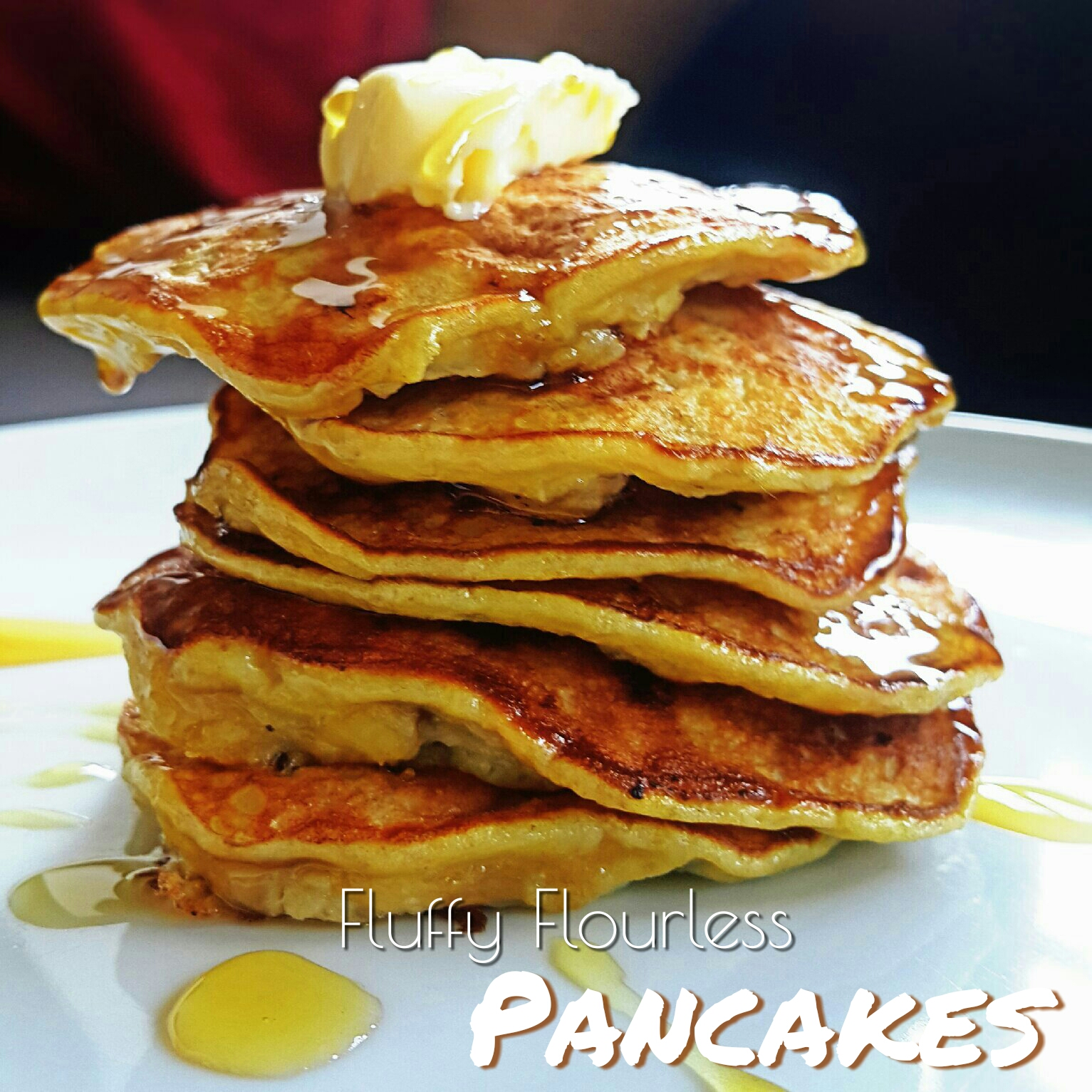 Picture of 10mins Gluten-free Breakfast: Healthy Fluffy Flour-less Pancakes