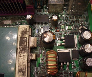 How to Repair Capacitors on Computer Motherboards and Other Electronic Devices.