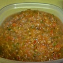 Making Salsa Fuego!
