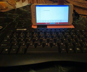 Connect Android Smartphone to USB Keyboard