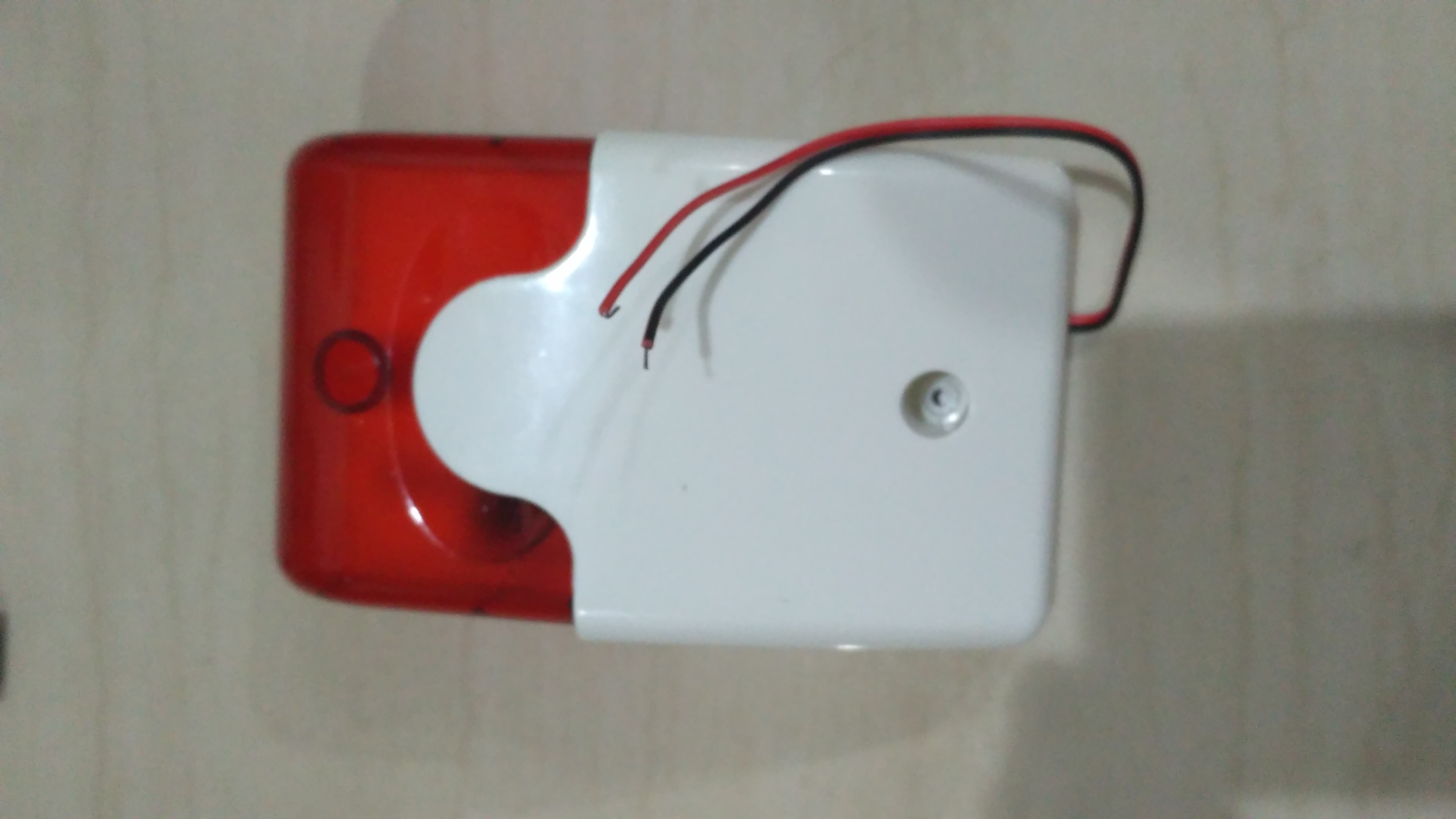 Picture of Modified the Alarm Box