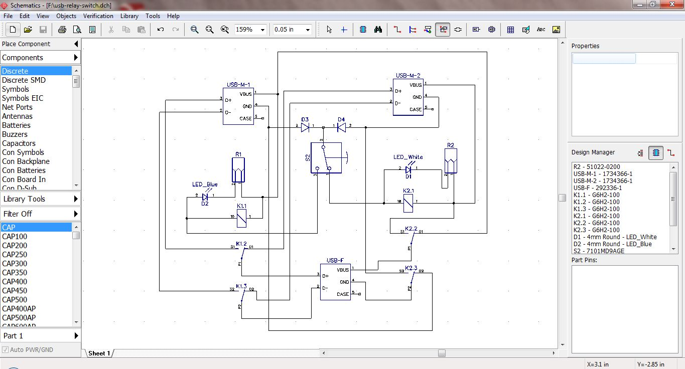 Picture of Schematic & Test