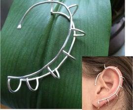 Silver ear-rail