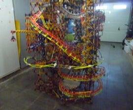 Knex Ball Machine: Downhill