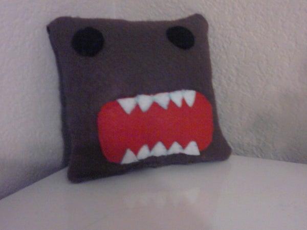 How To: Domo-Kun Plushie/Mini Pillow