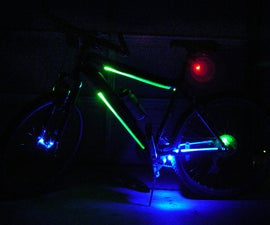 Efficient LED Bike Light System