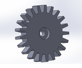 Design and Assemble a Wheelchair Lever Arm: Planetary Gear