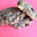 PB chocolate chip Oatmeal Cookies