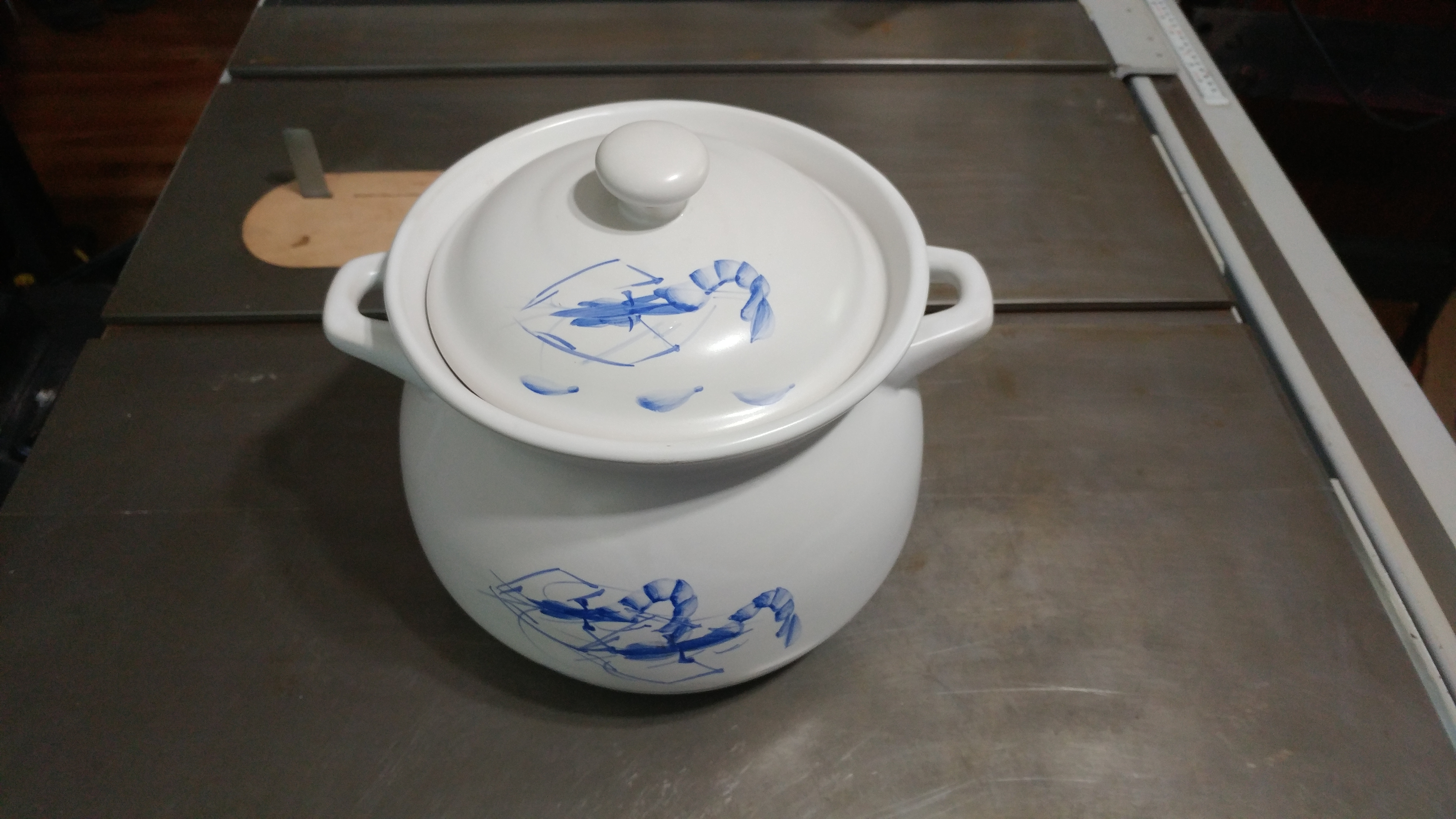 Picture of Ceramic Pot and Spout