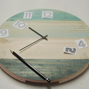 Adding the Movement, Hands and Numerals