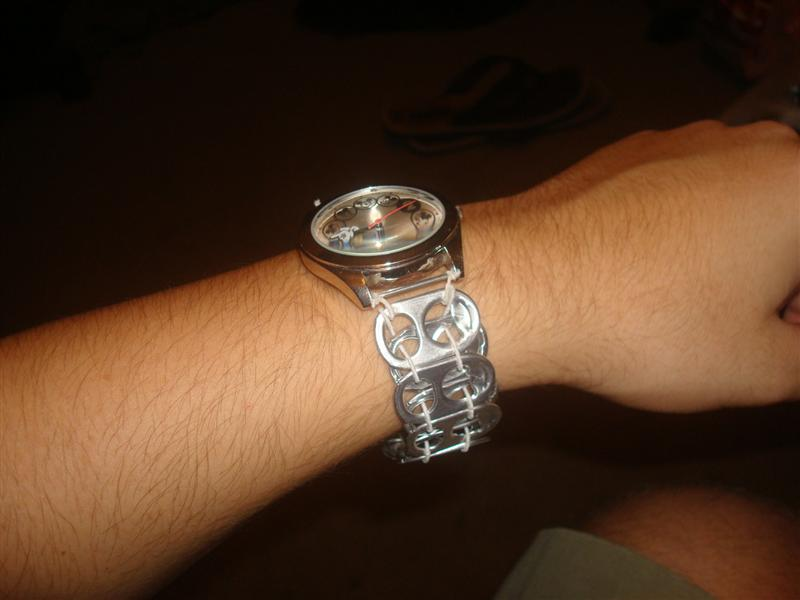 Picture of Stretchy Pop Tab Watch