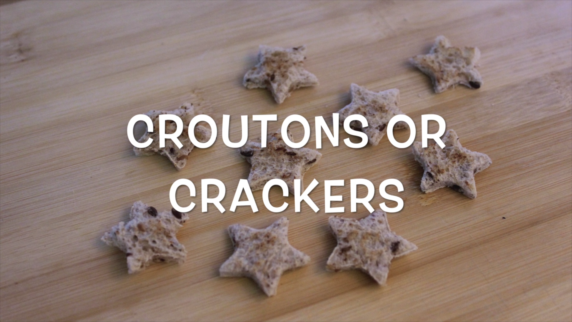 Picture of Make Croutons or Crackers