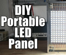 DIY Portable LED Panel