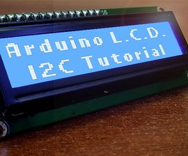 Fall in Love With I2C L.C.D. Displays.