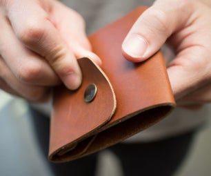Simple Leather Wallet: Layout and Trace