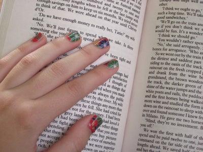 DIY Paper Nail Wraps