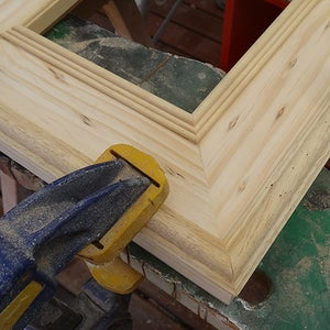 Cut and Attach Moulding