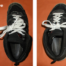 How To Shorten Your Shoelaces When They've Become Too Long To Single Tie