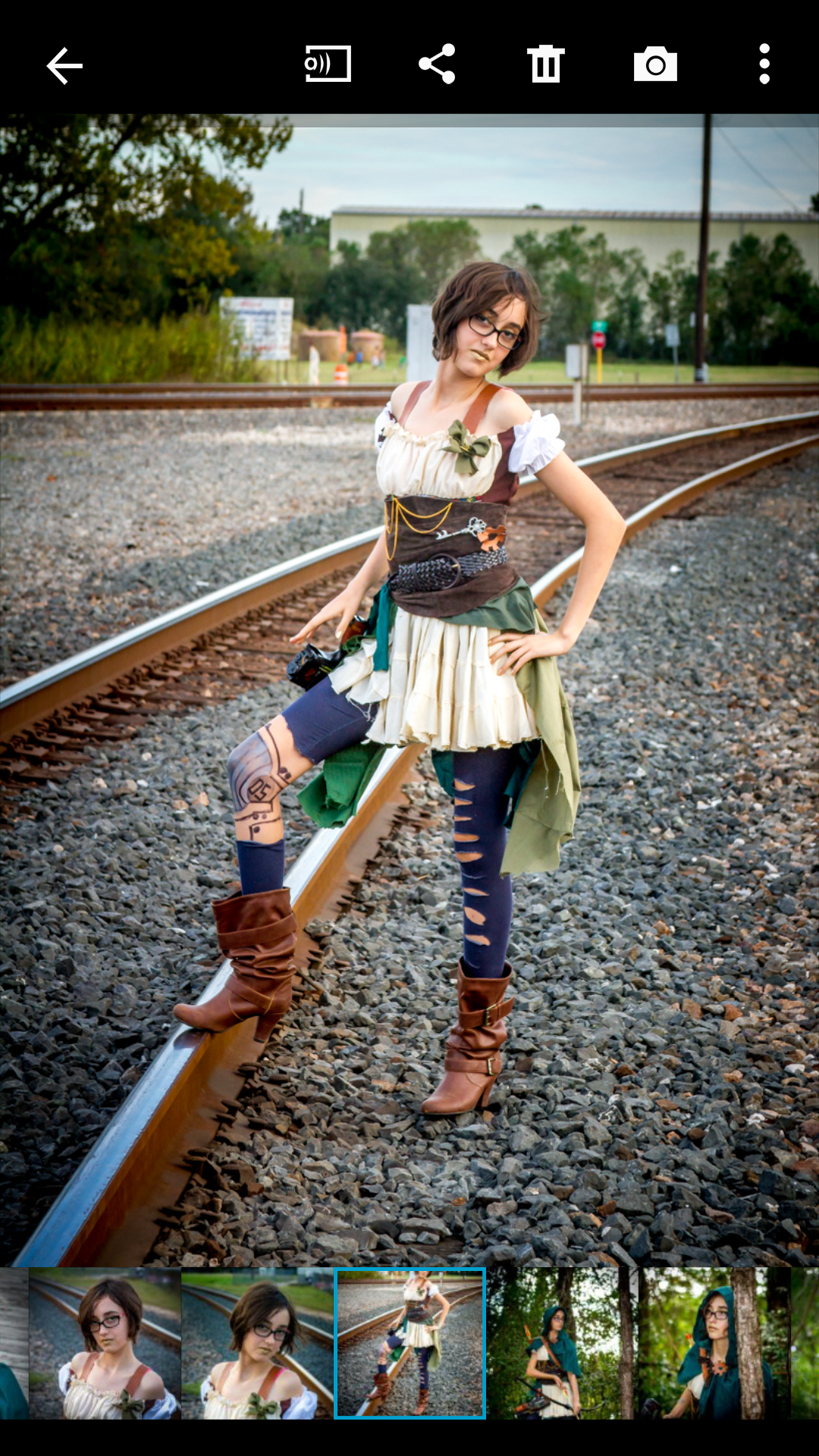 Picture of Steampunk Costume Corset